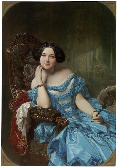 Federico Madrazo Küntz - Condesa de Vilches - 1853