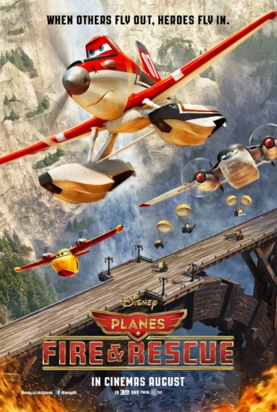 Planes: Fire and Rescue BluRay Rilis on August
