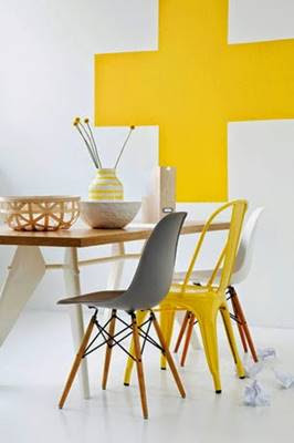 Yellow Color Interior Design and Decorating Ideas
