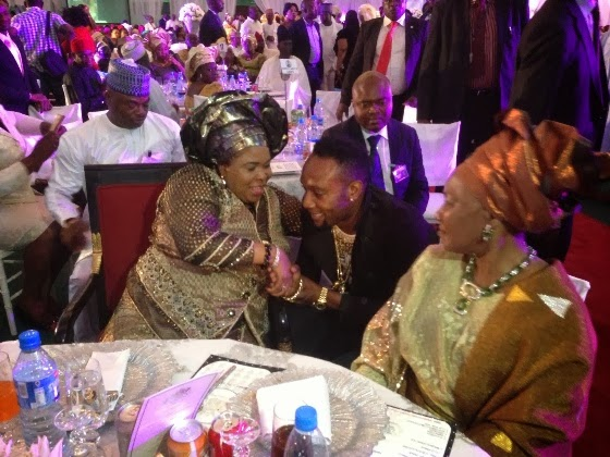 dr patience jonathan kcee aso rock