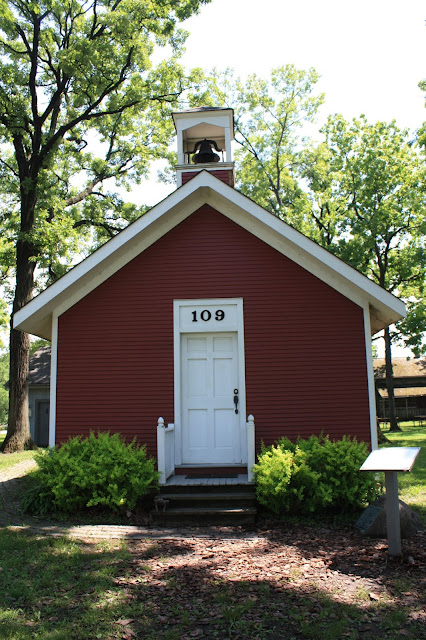 One room school house at Deerfield Historic Village