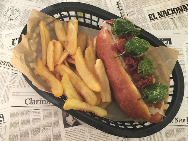 paperboy hotdog bar restaurante malasaña nachos luchana madrid cocina de autor gastro estamostendenciados,