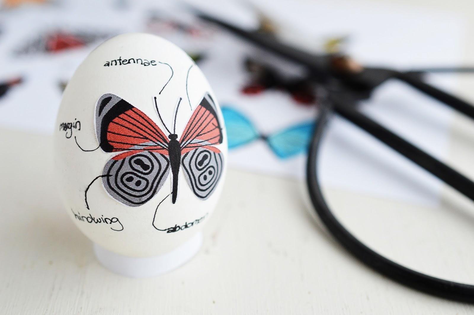 DIY Decoupage Easter Eggs | Motte's Blog