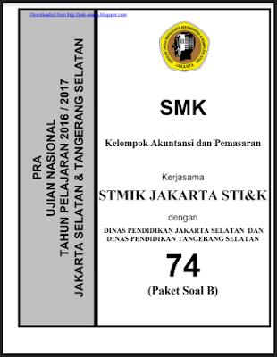 Prediksi Soal UN SMK 2018 Kelompok Keahlian Akuntansi/ Pemasaran dan Pembahasannya
