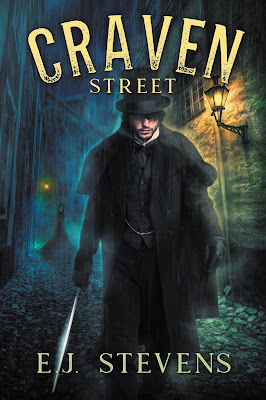 Craven Street (Whitechapel Paranormal Society, #1) by E.J. Stevens
