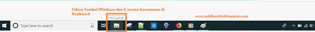 Gambar. Icon File Explorer
