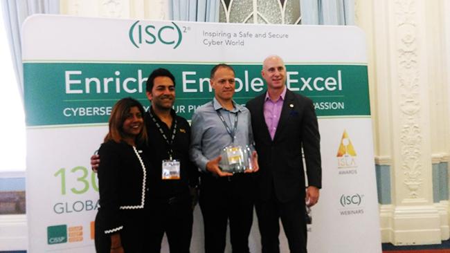 Firebrand gewinnt den (ISC)² Official Training Provider Recognition Award 2018
