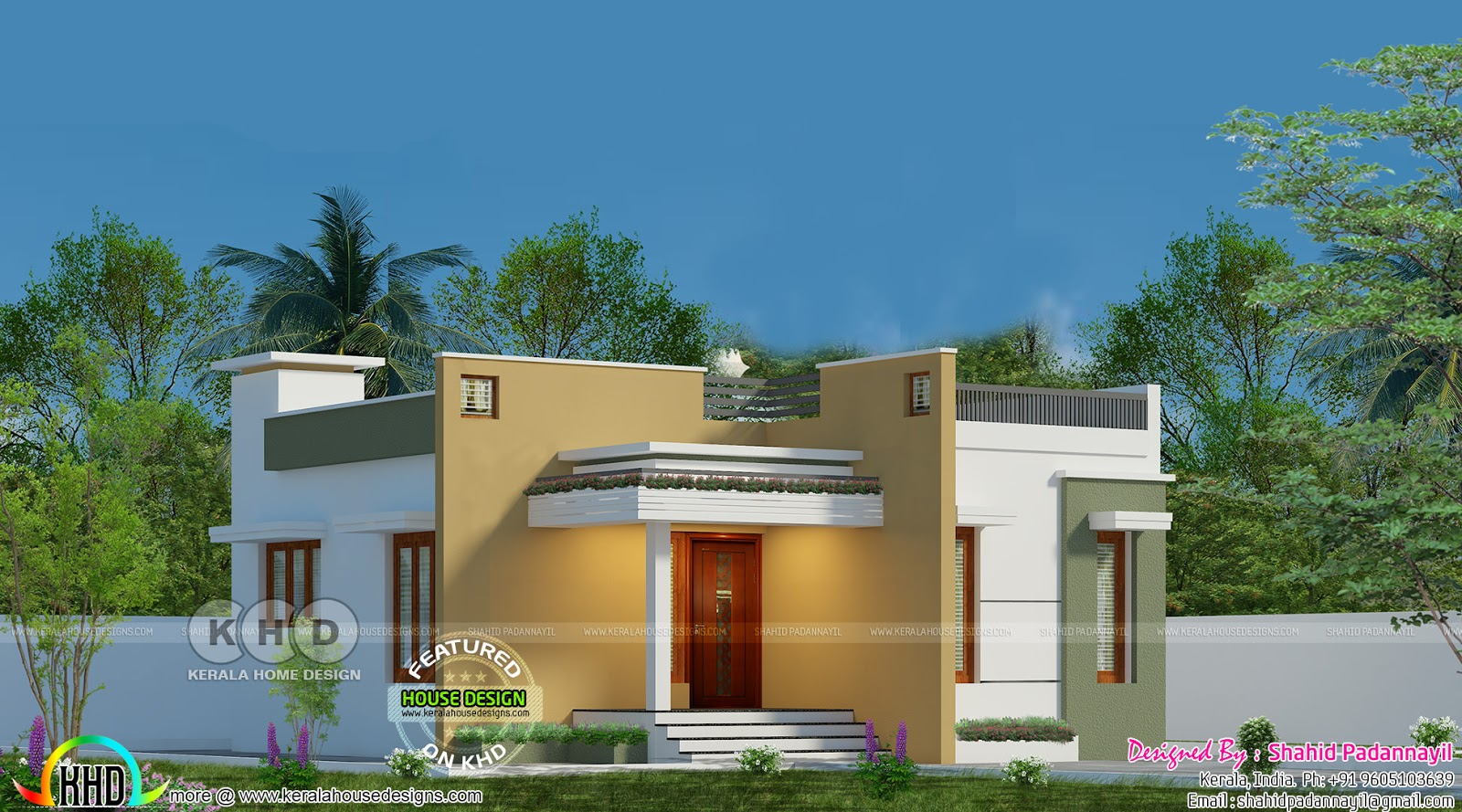 Low Cost Kerala Home Design Single Floor Kerala Home