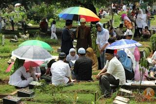 Hukum Menginjak atau Duduk di Atas Kuburan