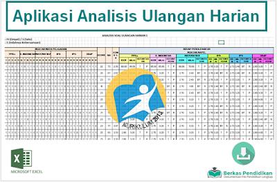 Download Aplikasi Analisis Ulangan Harian Kompetensi Pengetahuan Kurikulum 2013
