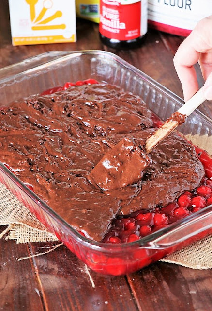 How to Make Chocolate Cherry Upside Down Cake Image