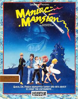 Videojuego Maniac Mansion