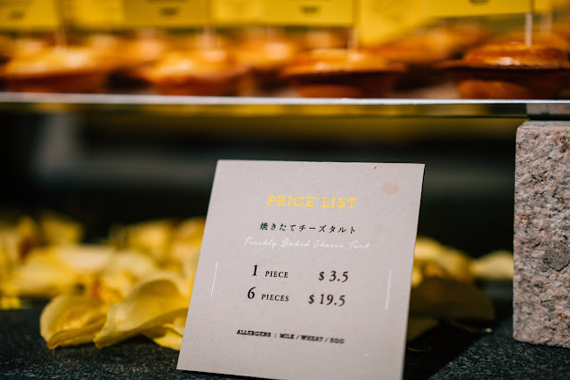 BAKE Cheese Tart Price Japan Singapore