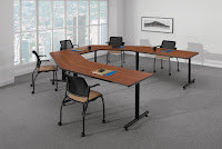 U Shaped Conference and Training Table