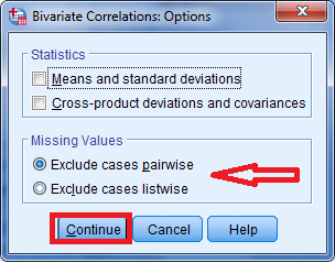 korelasi bivariate dengan moment product pearson menggunakan SPSS statistik 5