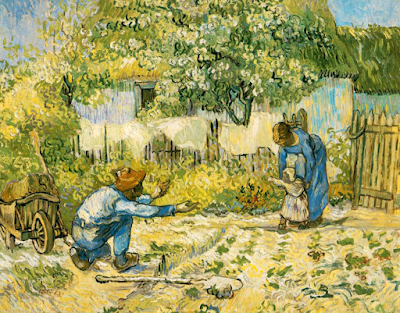 Ван Гог Первые шаги, 1890