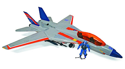 San Diego Comic-Con 2011 Exclusive G.I. Joe x Transformers Starscream Sky Striker Jet with Cobra Commander Action Figure & a Megatron Walther P38 Pistol