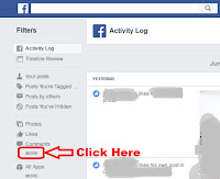how to clear facebook search history suggestions