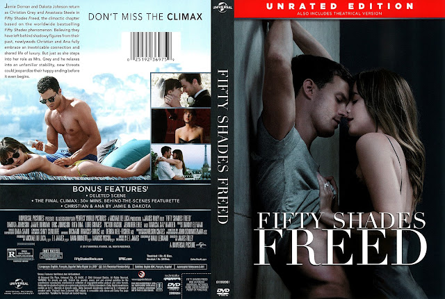 Fifty Shades Freed (scan) DVD Cover