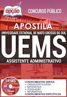 Apostila UEMS 2017 Assistente Administrativo