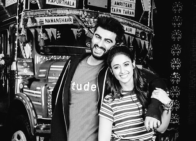 Ileana D'Cruz with Arjun Kapoor