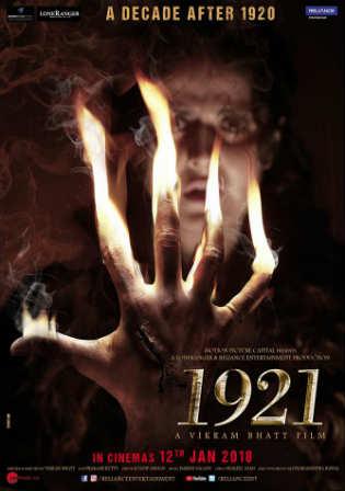 1921 (2018) HDRip 400MB Full Hindi Movie Download 480p Watch Online Free Worldfree4u 9xmovies