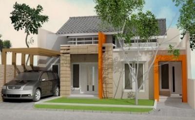 macam macam rumah minimalis tampak depan