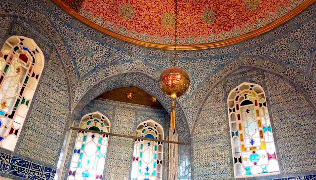 Interior El Palacio de Topkapi