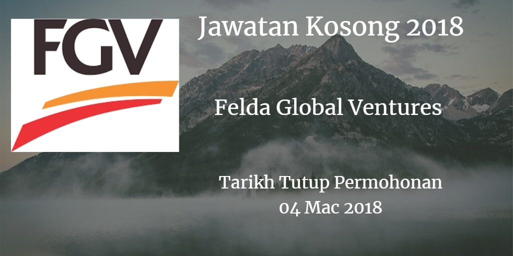 Jawatan Kosong FGV 04 Mac 2018
