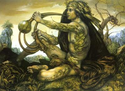 Secondo la leggenda ella era in origine una donna dissoluta che fu tagliata a metà dai suoi numerosi amanti