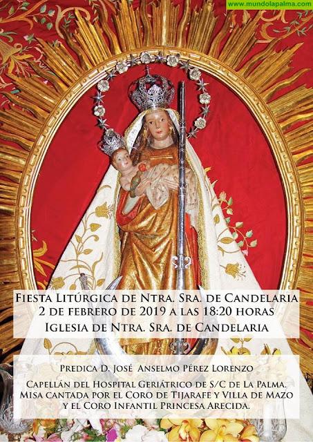 Fiesta Litúrgica de Ntra. Sra. de Candelaria en Tijarafe