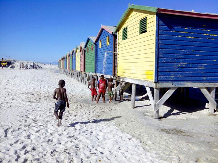 La Böcöque. Aventuras en Sudáfrica. Casas de colores