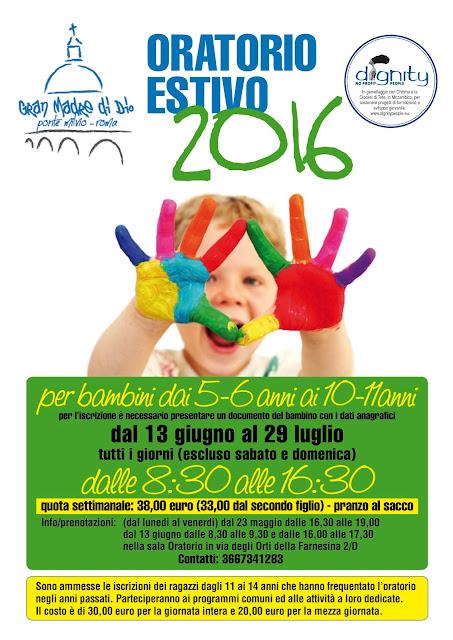 Centri estivi per i bambini dai 5 ai 10 anni a Roma