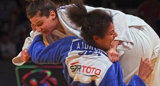 Albanian judoka Loriana Kuka European Champion U23