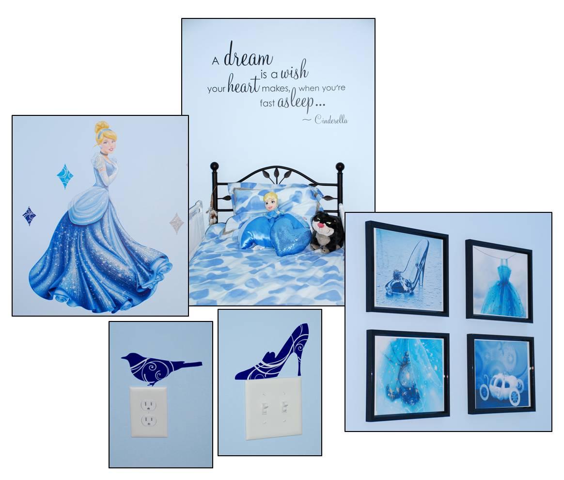 From @BalancingMama: Update: #Cinderella Bedroom Getting