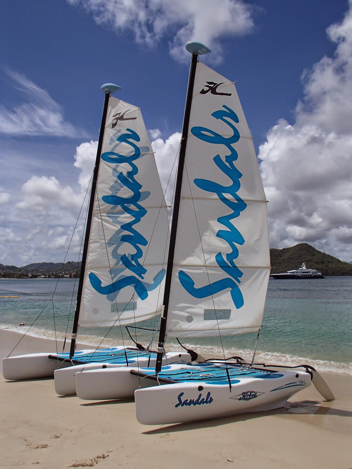Sandals sailboats