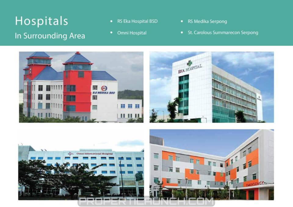 Hospital Sekitar Serpong Garden Apartemen
