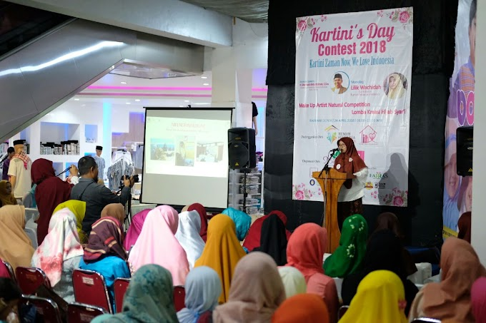 Kartini's Day Contest 2018 Dibanjiri Peserta