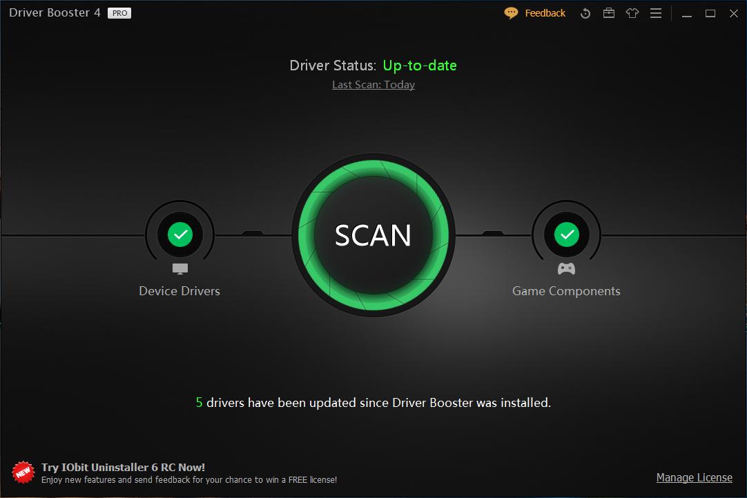 driver booster 4.0.1 pro лицензионный ключ