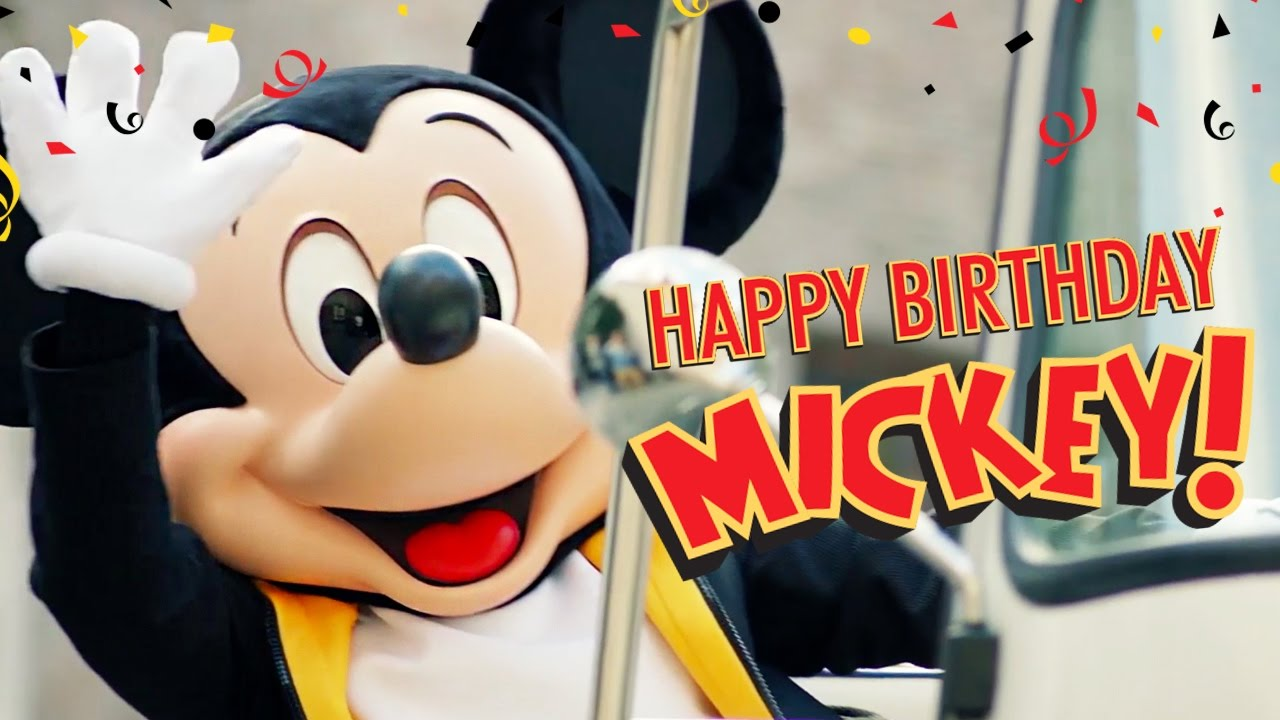 Stephs Mouse Treks Happy 89th Birthday Mickey Mouse
