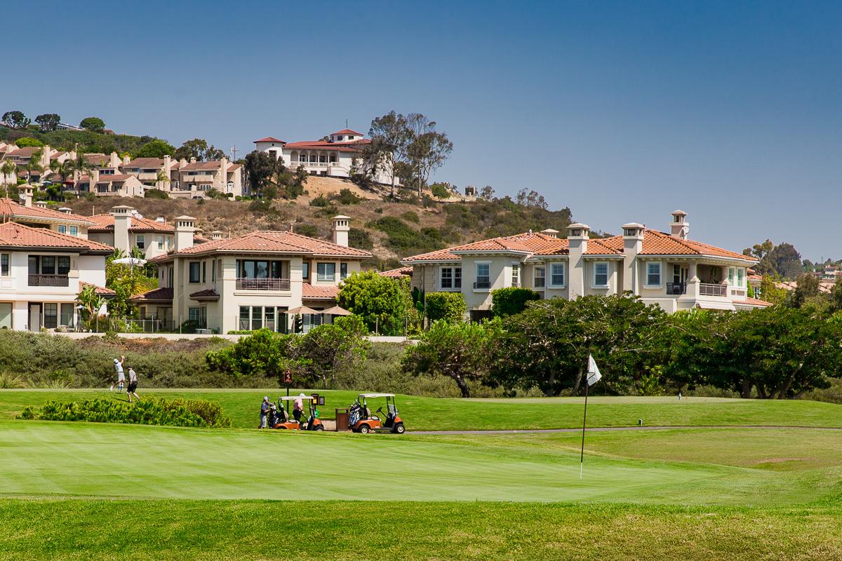 Award winning Monarch Beach Golf Links.