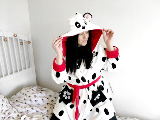 Dalmatian Dressing Gown