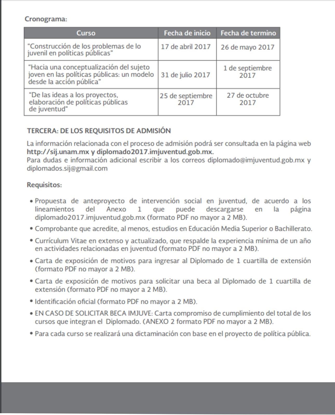 Instituto Tecnologico de Zacatepec - DIPLOMADO POLÍTICAS DE JUVENTUD ...