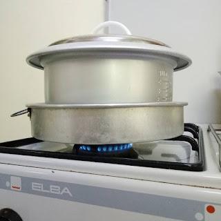 Tart Telur Rice Cooker Sukatan Cawan
