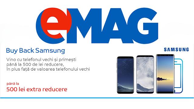 Buy Back Samsung în decembrie la eMag