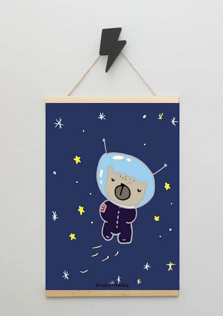 Kosmiczne plakaty do druku
