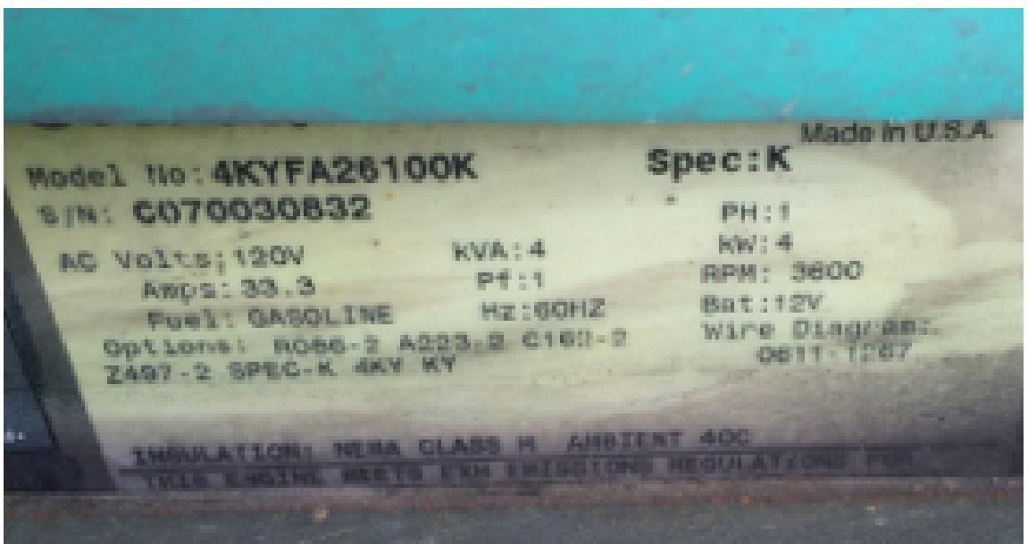 The Lazy Daze Companion Generator - Replacing Onan 4000 Microquiet
