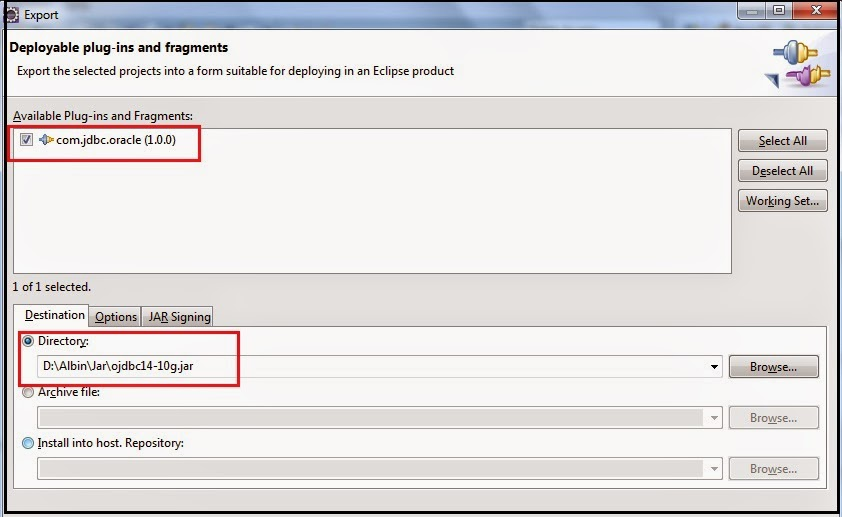 How to connect to oracle database using datasource pool from