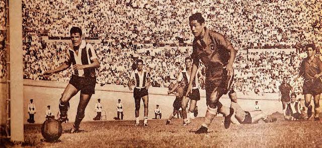Chile y Paraguay en Clasificatorias a Suiza 1954, 21 de febrero