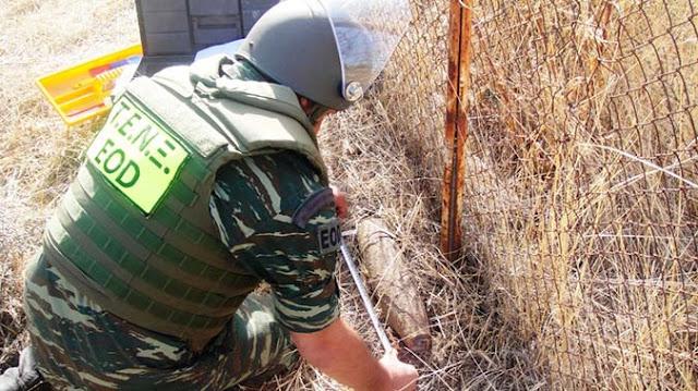 Θεσπρωτία: Απαγόρευση κυκλοφορίας για την καταστροφή βλήματος σε περιοχή του Όρους Μουργκάνα